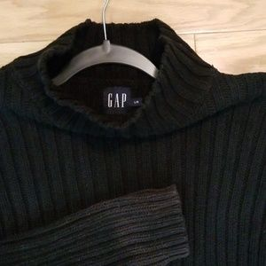 GAP Black Turtleneck Sweater Large